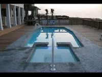 Olympus Fiberglass Pool and Spa in Cape May Point, NJ